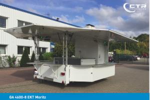 1 CTR Getränkeausschankwagen Typ GA 4600-8 EKT Moritz'