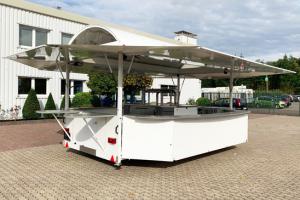 Getränkeausschankwagen GA 5000-8 EA Rundbogendach'