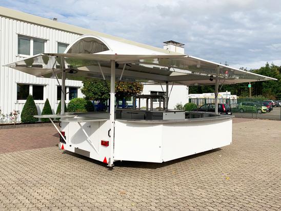 Getränkeausschankwagen GA 5000-8 EA Rundbogendach