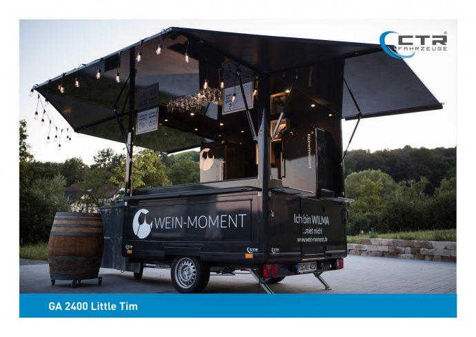 GA 2400 Little Tim Weinstände