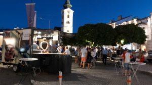Weingenuss im Herzen der Stadt.(Foto: Stadt Freistadt)