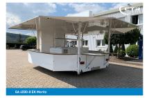 Getränkeausschankwagen Achteck Typ GA 4500-8 EK
